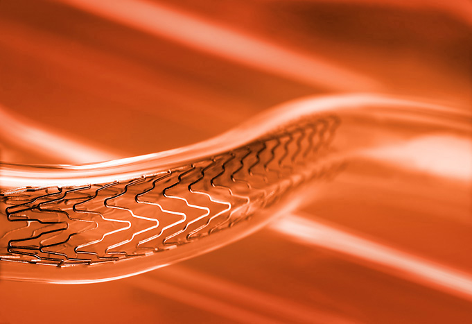 stent medical device medical product macro Silicon Valley product photography